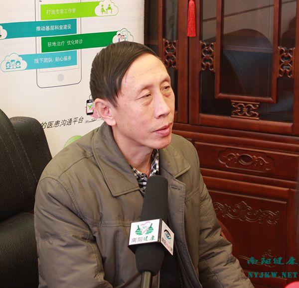 记南阳市骨科医院副院长白金广