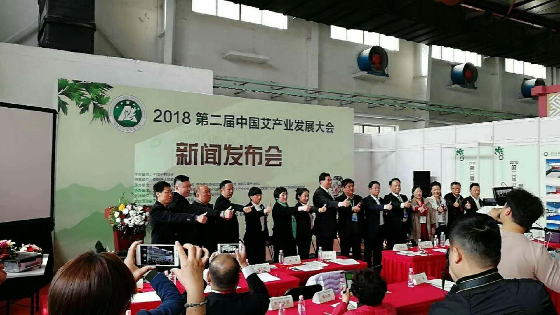 四月北京健博会 南阳卧龙汉艾展风采