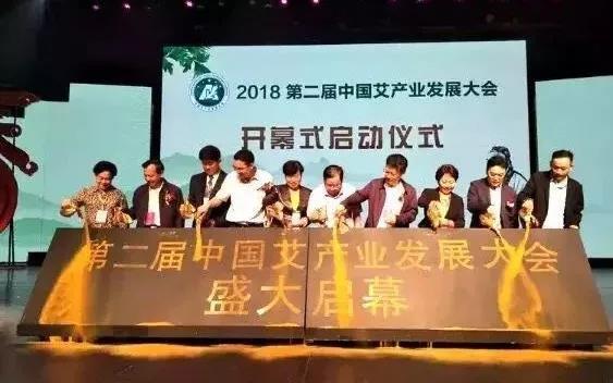 第二届中国艾产业发展大会在南阳成功举办