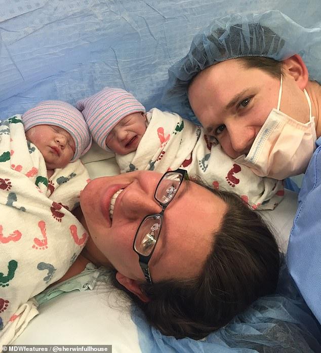 美:女子患多囊卵巢综合征后产下5胎