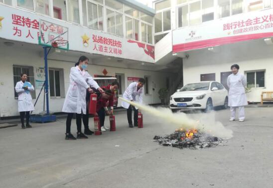 增强消防安全意识 建设平安和谐医院 南阳丽人妇科医院开展消防安全知识培训