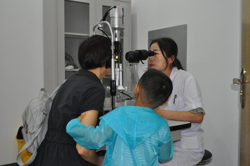 让眼睛更明亮 让心灵更美好―南阳市宛城区妇幼保健院眼科门诊部揭牌开业