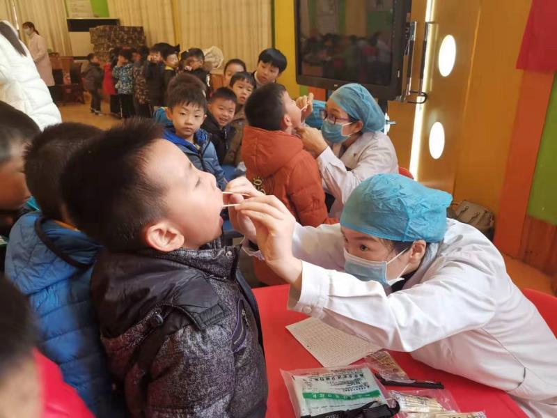 """河南:南陽市口腔醫院為兒童送健康""""加餐"""""""