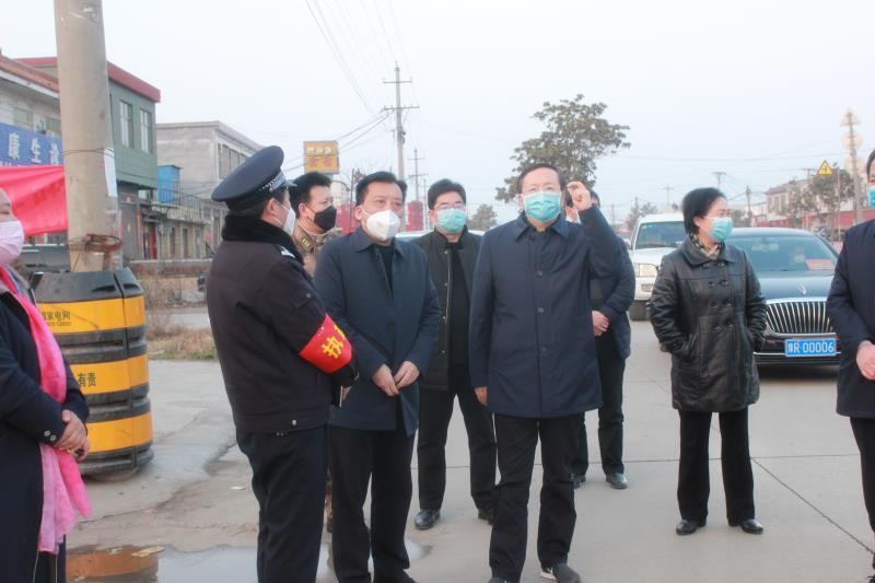南阳市政协主席张生起;以踏石留印抓铁有痕的作风落实疫情防控各项措施