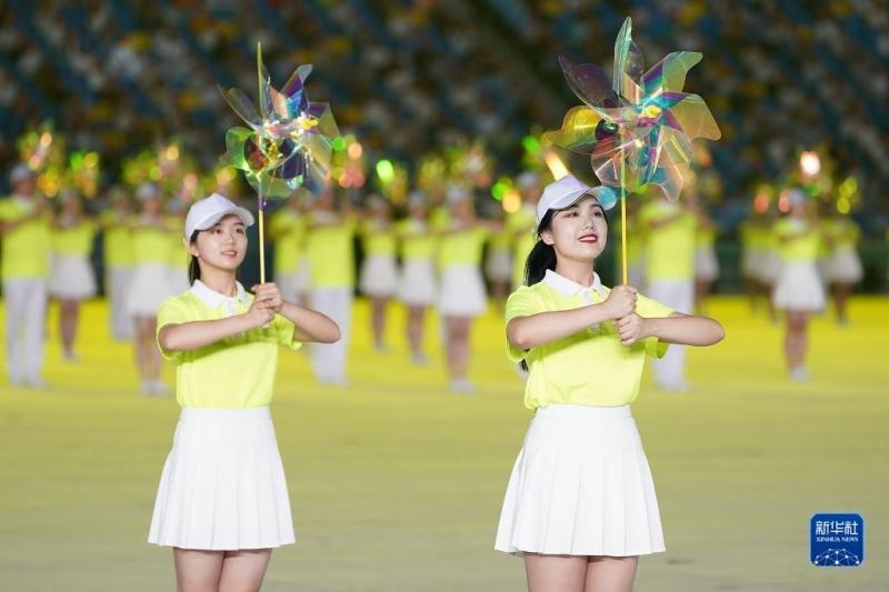 第十四届全运会开幕式在西安举行